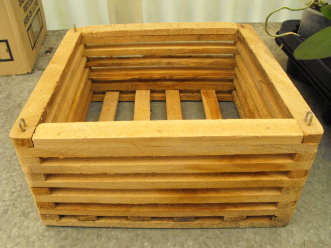Wooden Basket 250mm